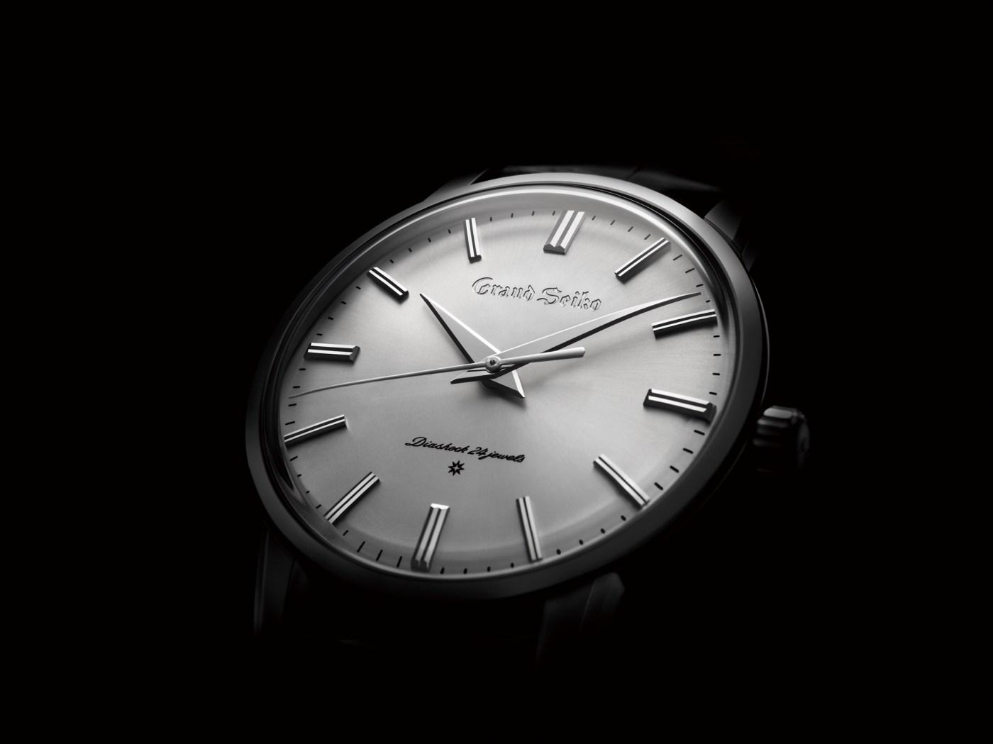2020 Grand Seiko SBGW257 platinum dial anniversary recreation