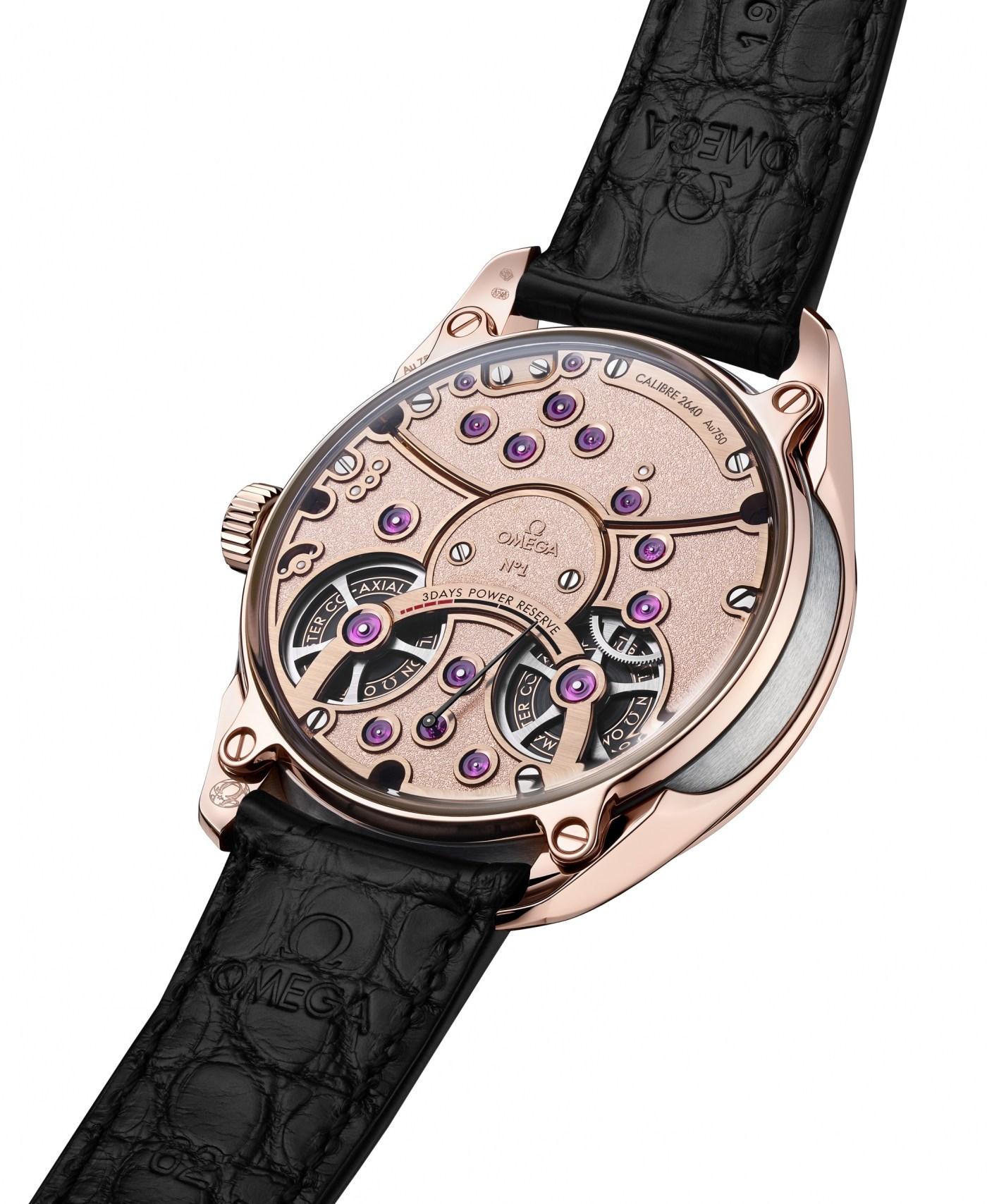 Omega De Ville Tourbillon Master Chronometer caseback