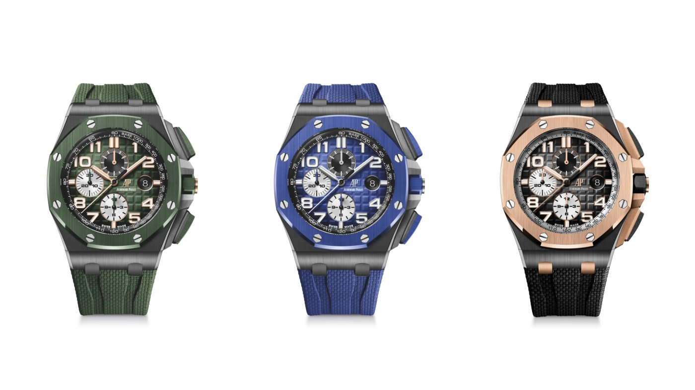 2020 Royal Oak Offshore Chronograph 44 mm Ceramic all three references