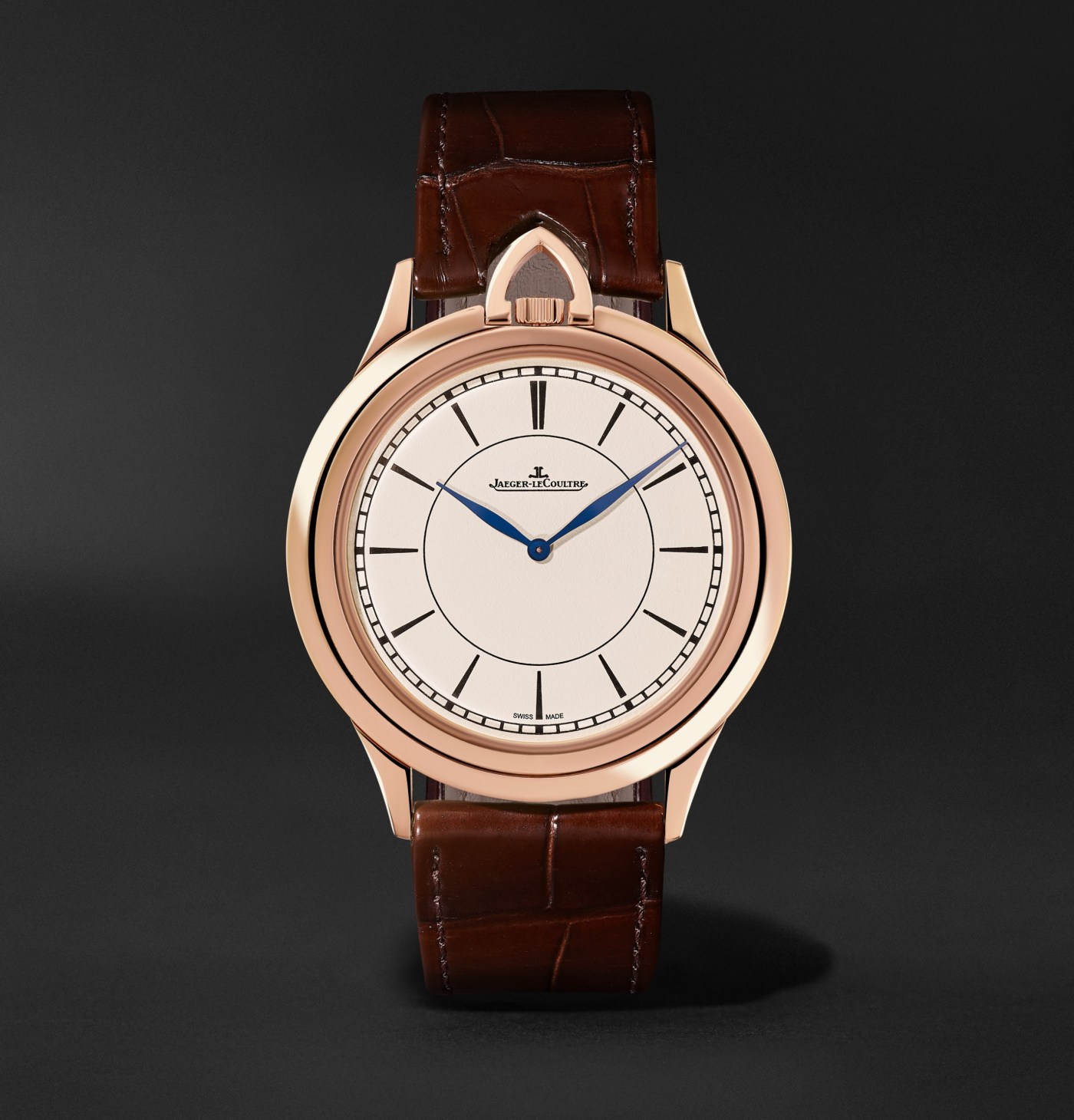 Jaeger-LeCoultre Master Ultra Thin Kingsman Knife Watch front