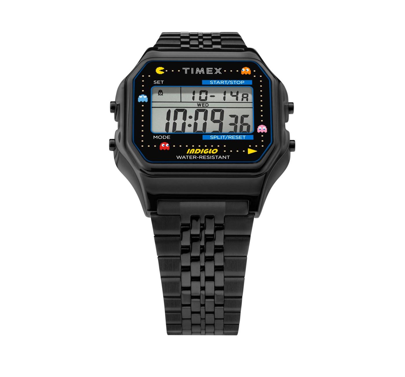 Pac-Man T80 Timex black PVD front