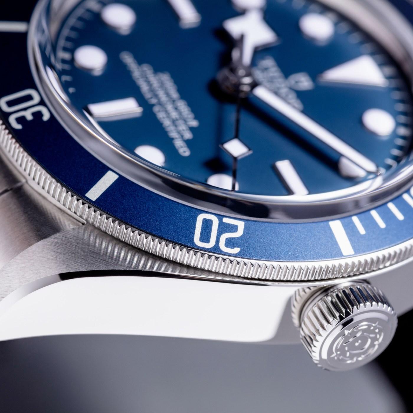 Tudor Black Bay Fifty-Eight Navy Blue close-up
