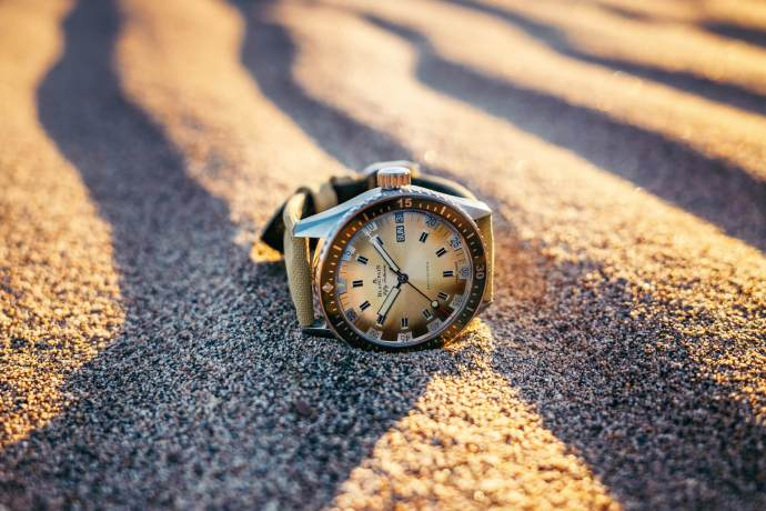 Blancpain Fifty Fathoms Day-Date Desert