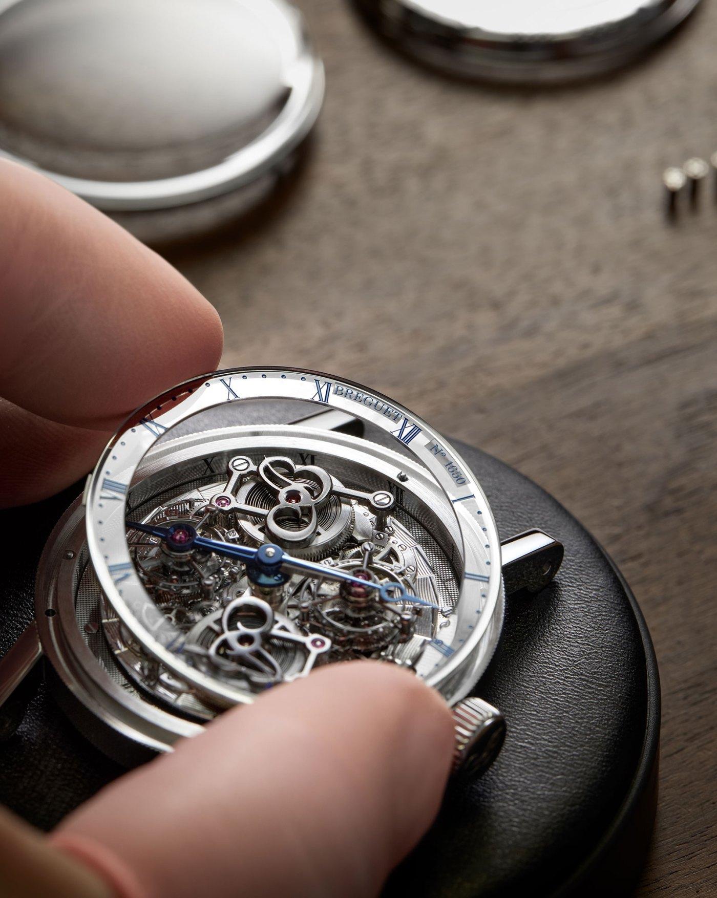 Breguet Classique Double Tourbillon 5345 Quai de l'Horloge sapphire chapter ring