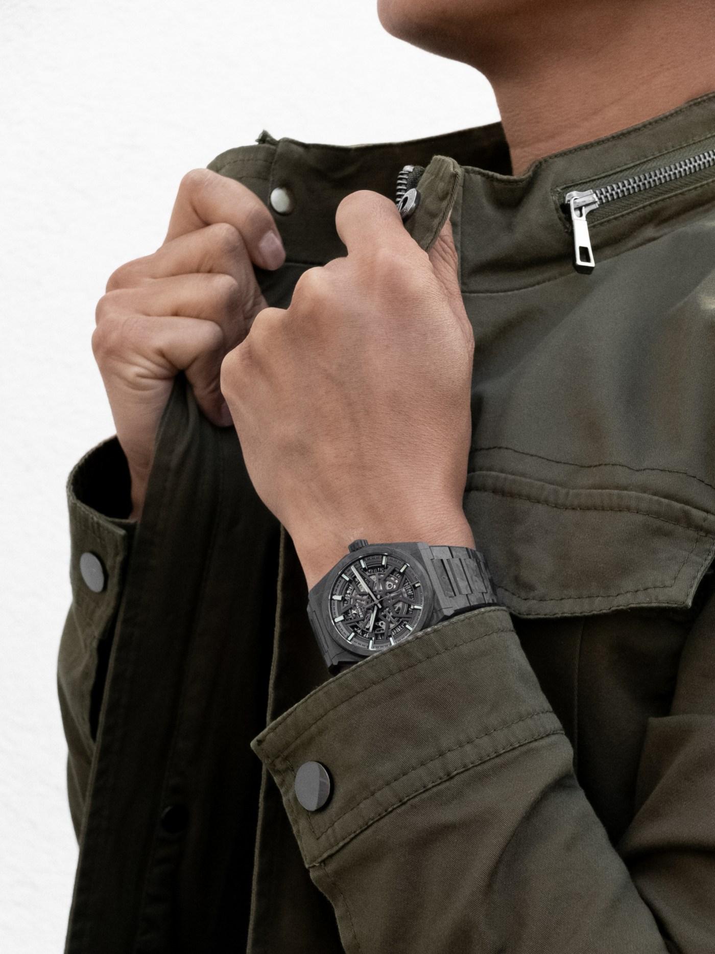 Zenith Defy Classic Carbon wristshot