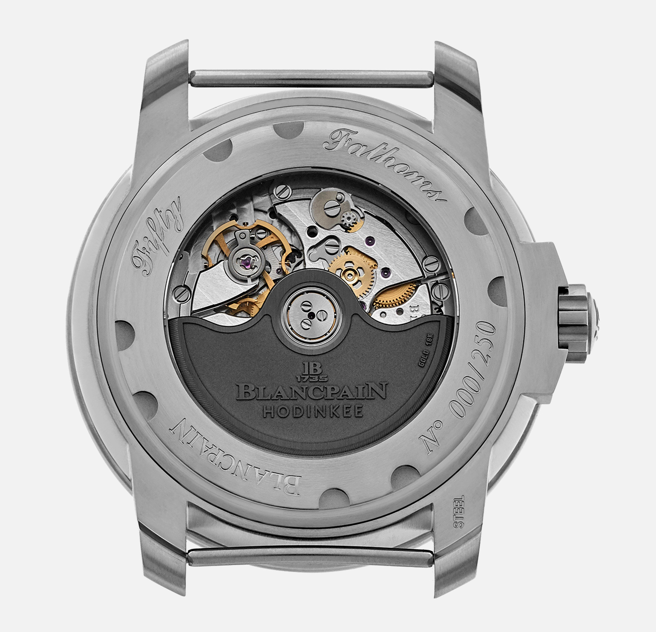 Blancpain Fifty Fathoms MIL-SPEC Hodinkee Limited Edition caseback