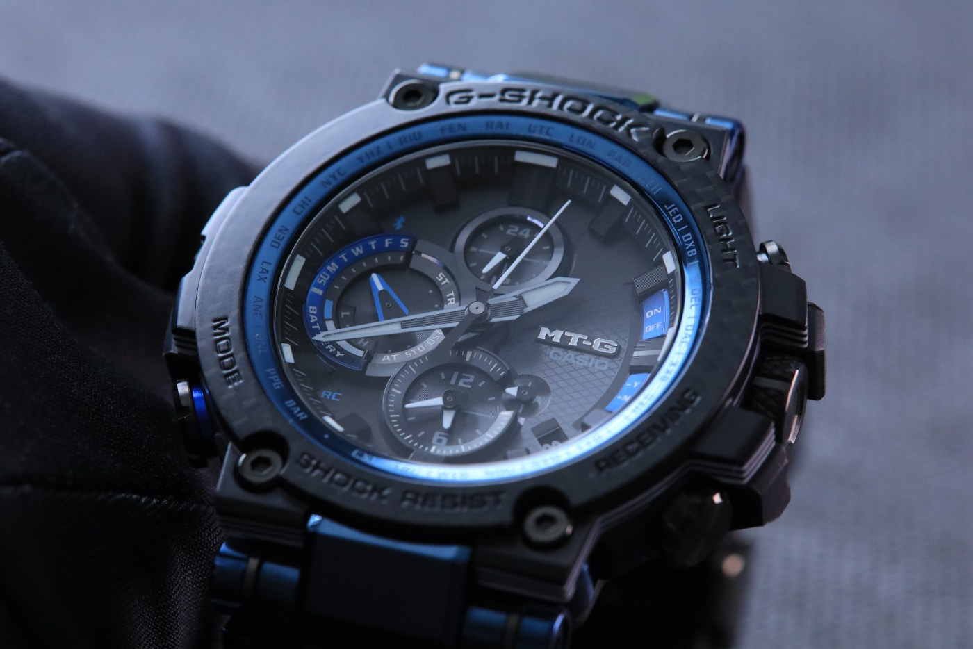 G-Shock MT-G Carbon Fiber MTGB1000XB-1A hands-on