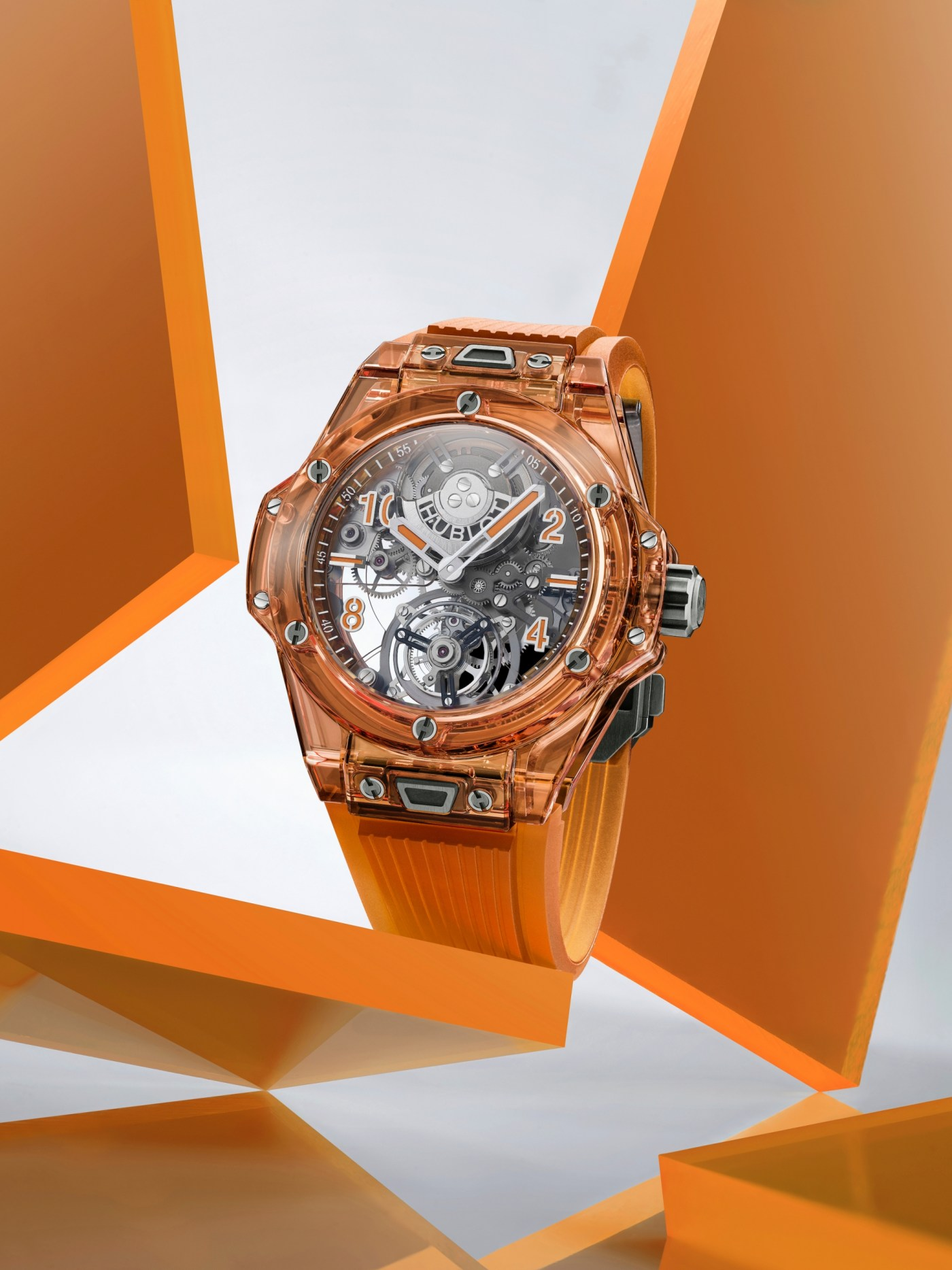 Hublot Big Bang Tourbillon-Automatic Orange Sapphire