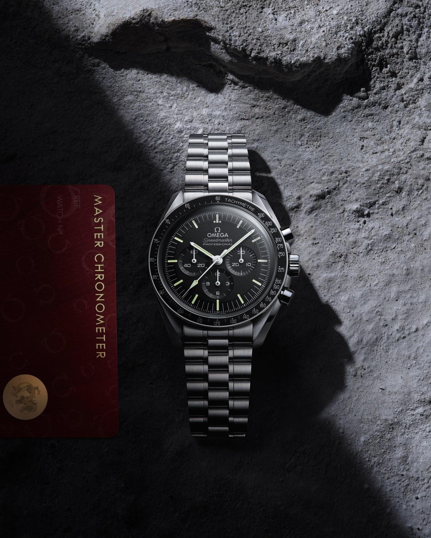 "2021 Omega Speedmaster Professional Moonwatch ""Master Chronometer"""