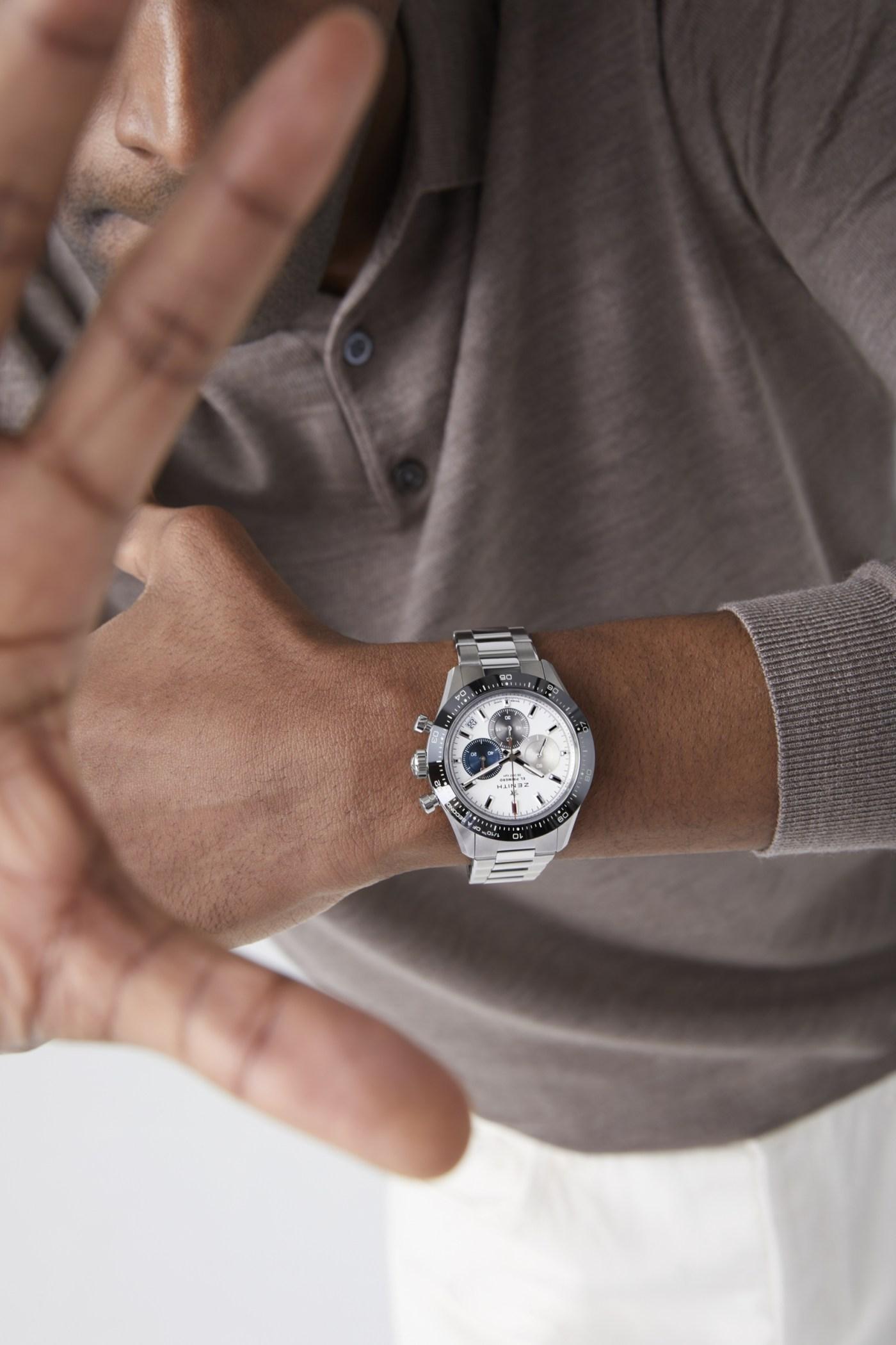 Zenith 2021 Chronomaster Sport wristshot