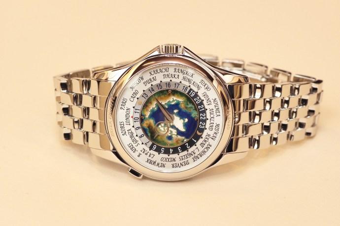 Patek Philippe 5131/1P World Time Enamel Cloisonne Dial in Platinum 2017