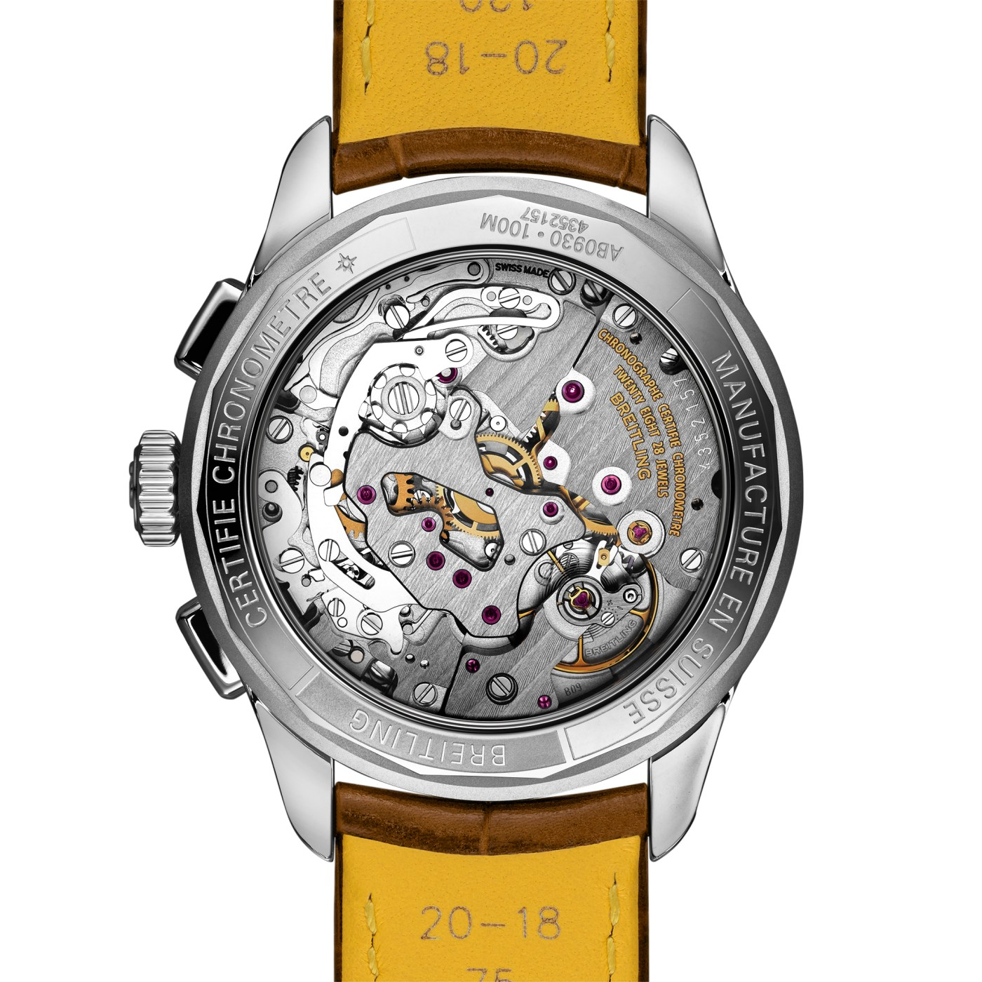 2021 Breitling Premier Heritage Chronograph caseback