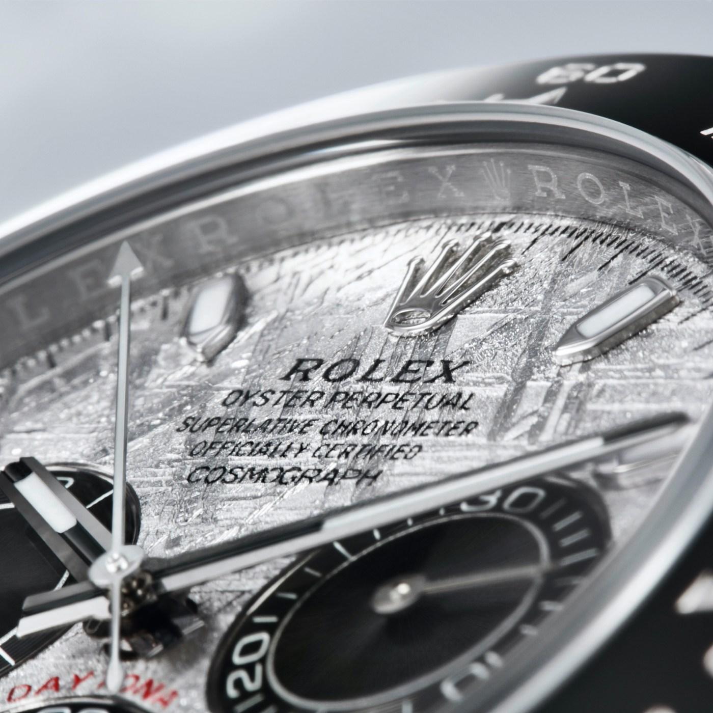 2021 Rolex Daytona 18K Gold with Meteorite Dial