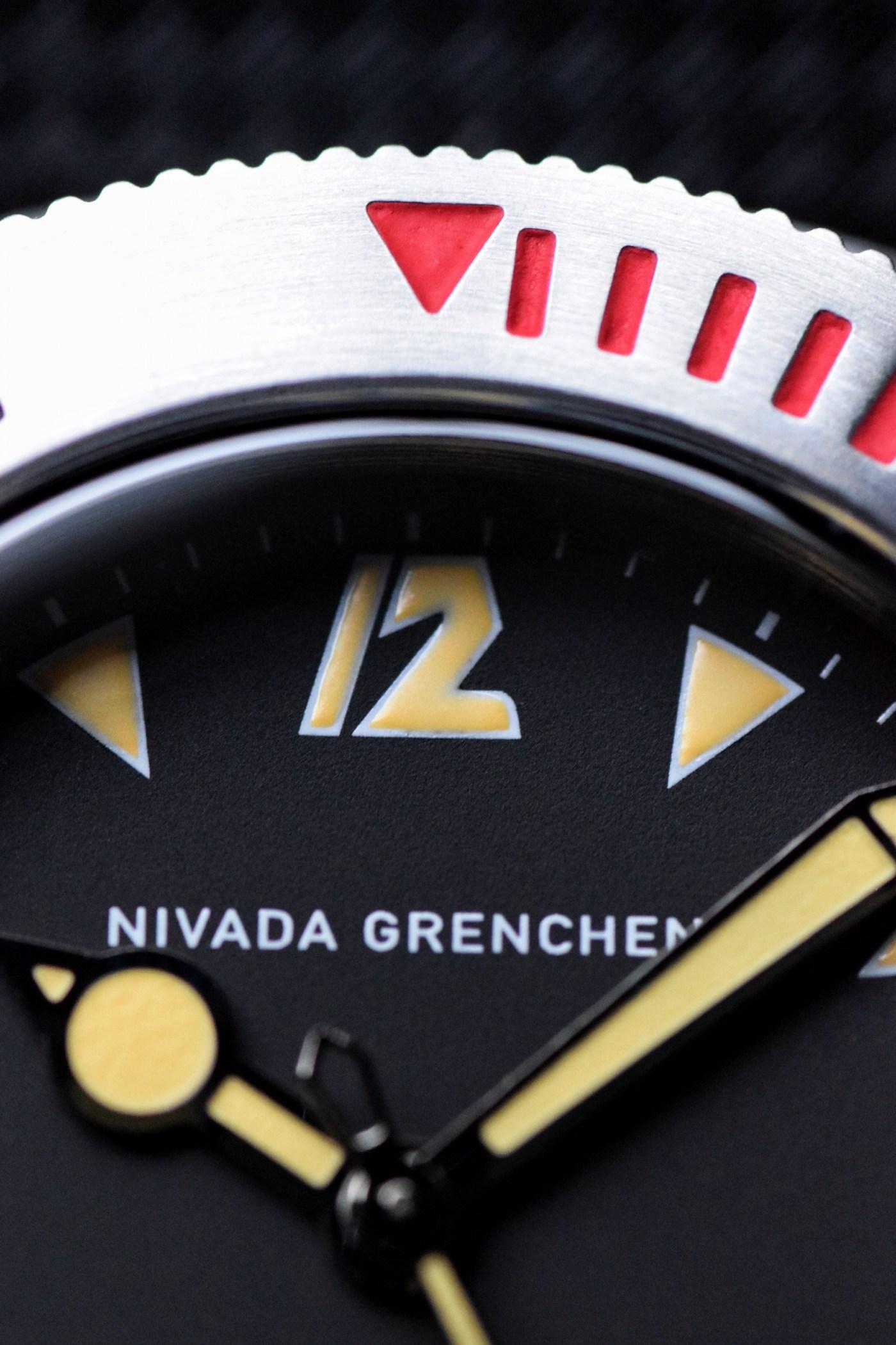 Nivada Grenchen Depthmaster 1000 Pac-Man