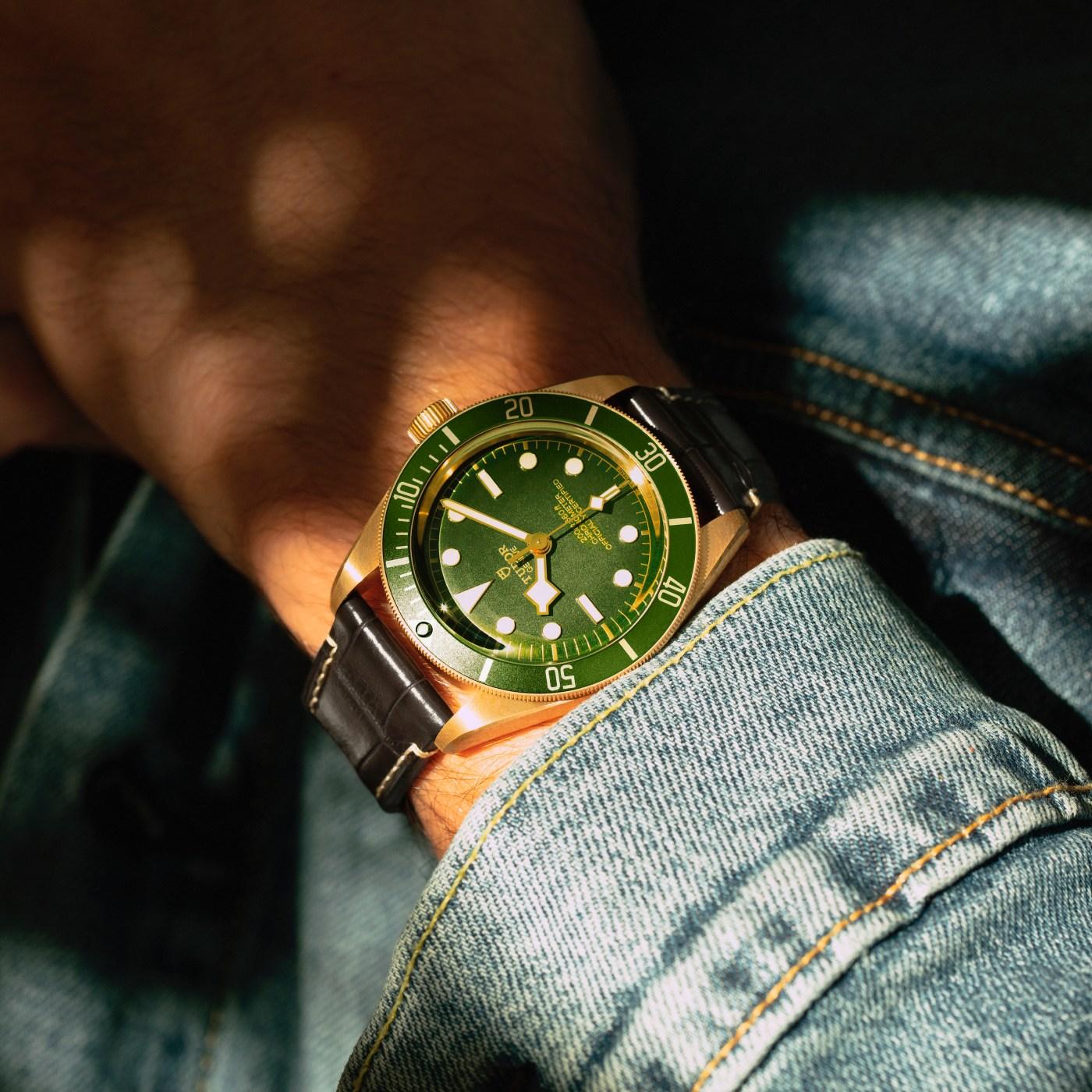 Tudor Black Bay Fifty-Eight 18K wristshot