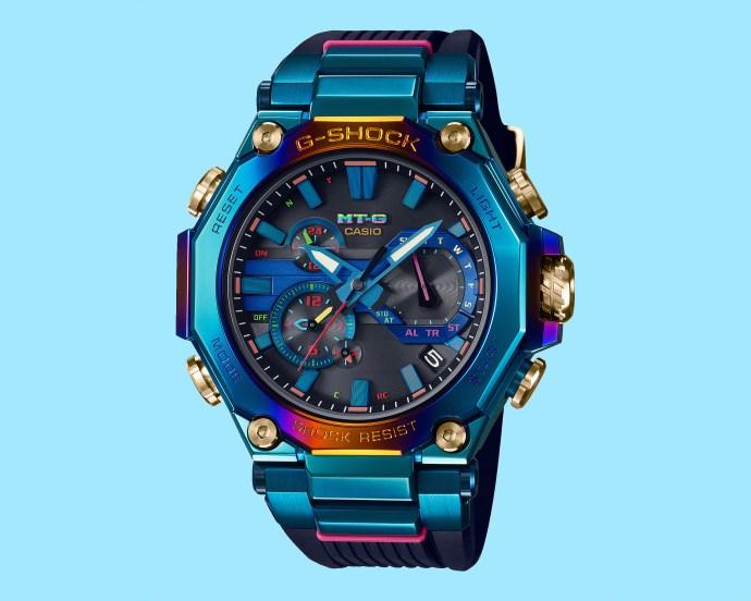 G-Shock MT-G Blue Phoenix Limited Edition MTG-B2000PH2A