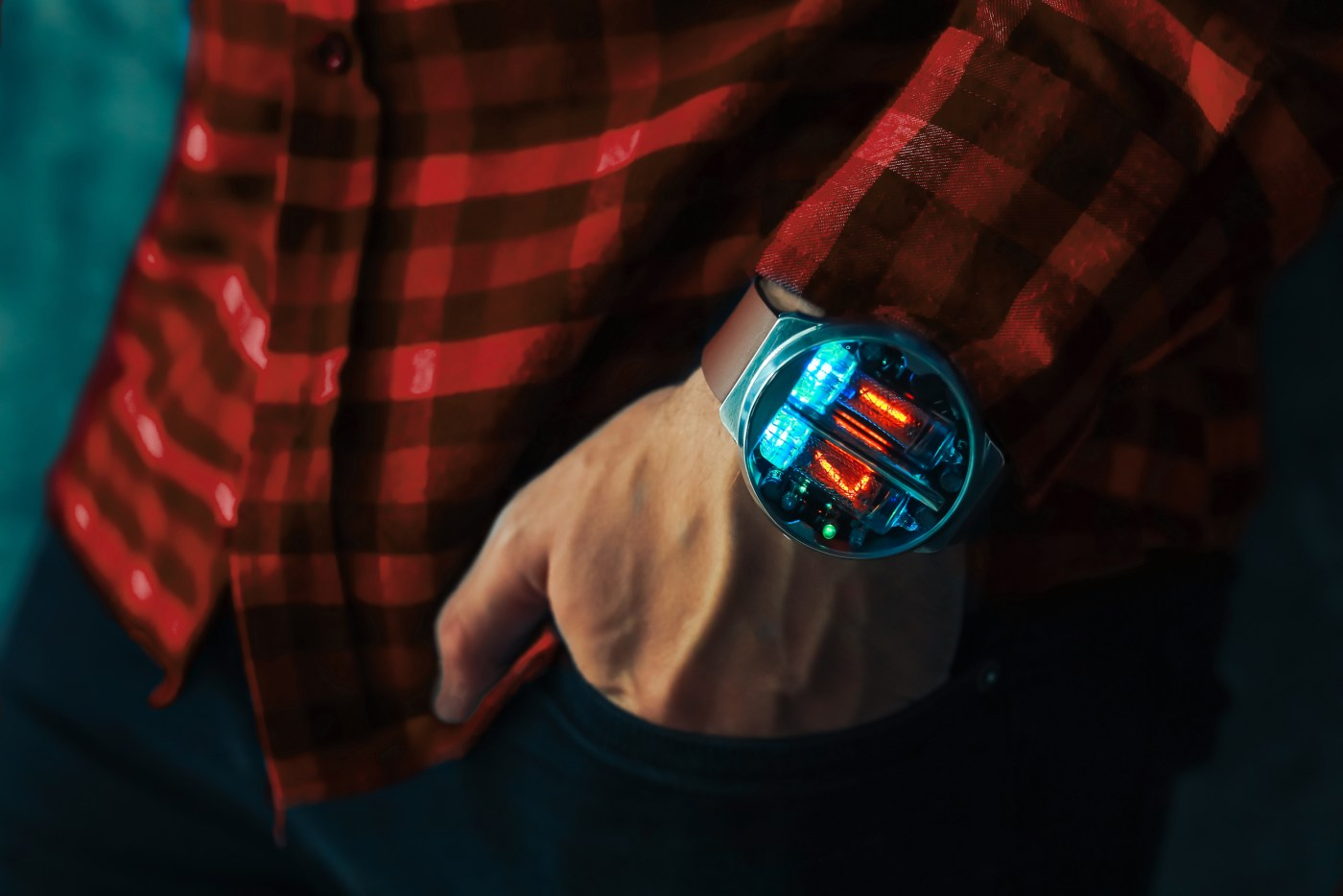 Nixoid Next wristwatch