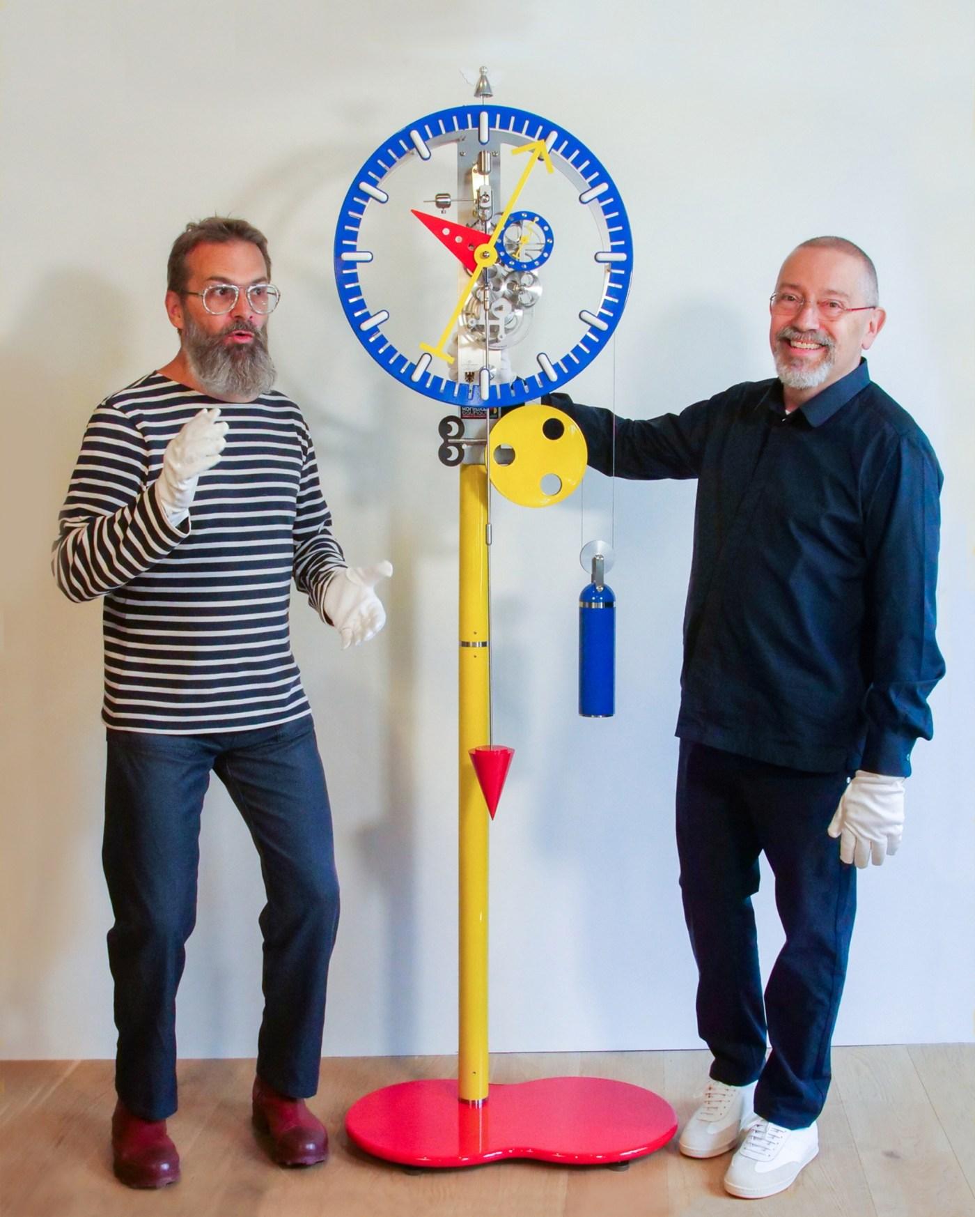 Philippe Lebru x Alain Silberstein floor clock