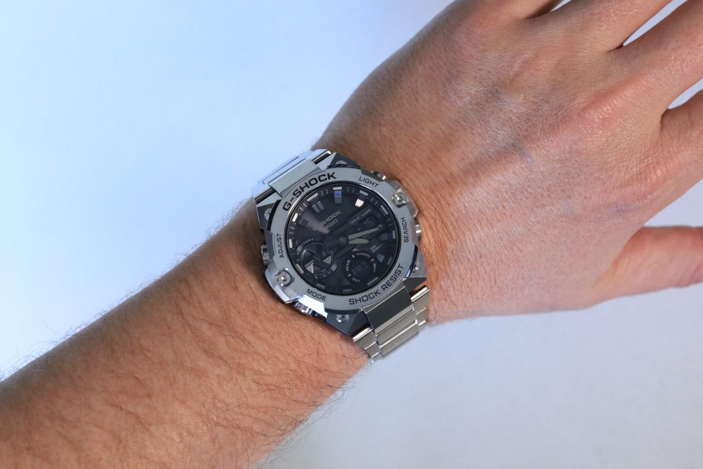 G-Steel GSTB400D-1A wristshot