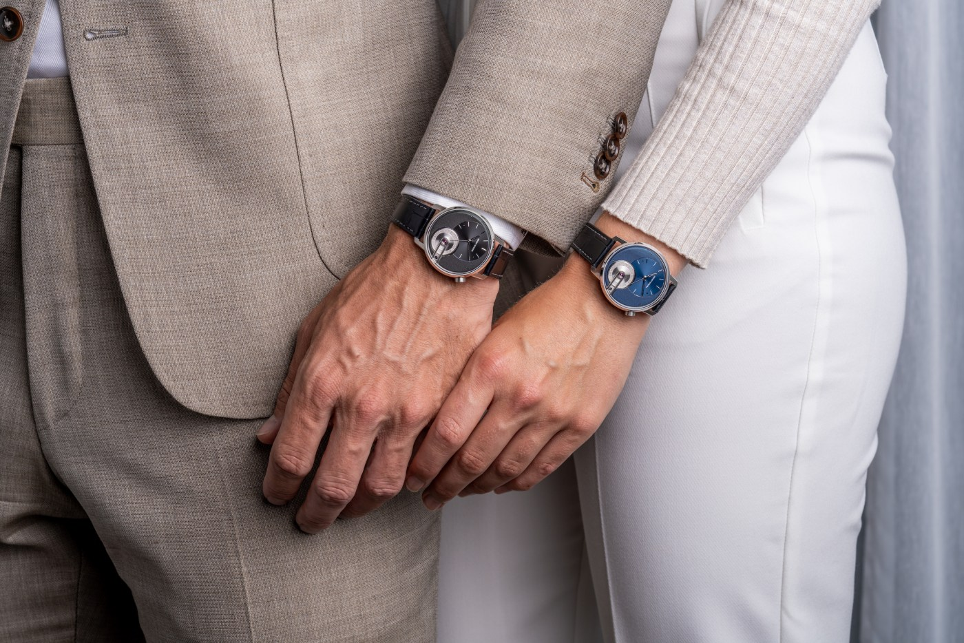 Armin Strom Tribute 1 Black or Blue wristshots