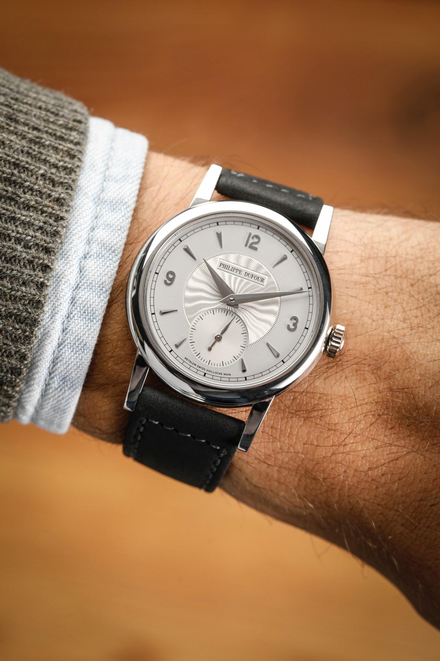 Philippe Dufour Simplicity wristshot