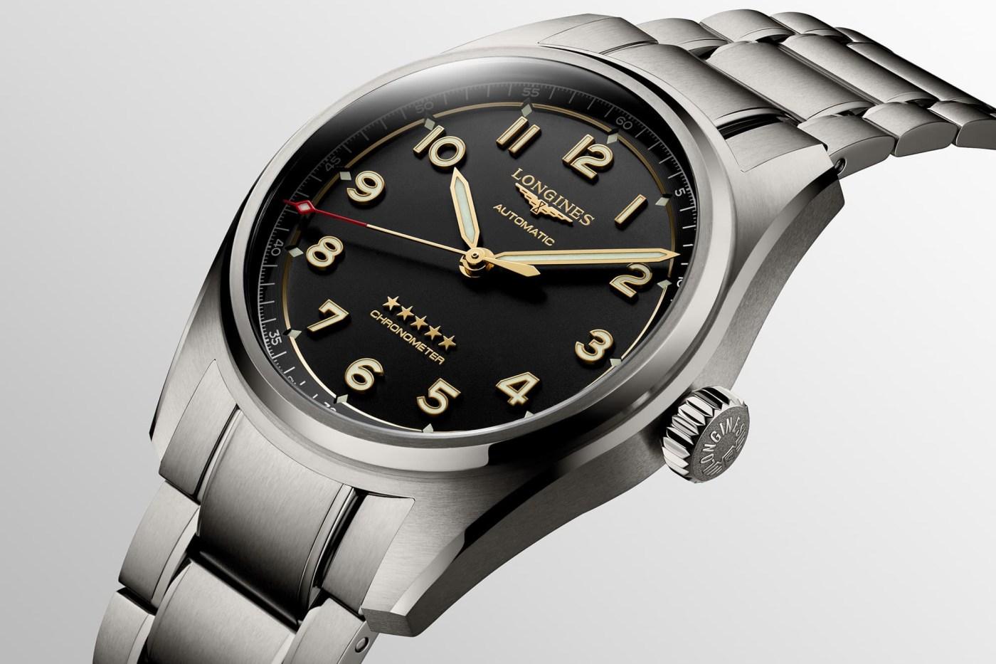 2021 Longines Spirit Titanium on a bracelet