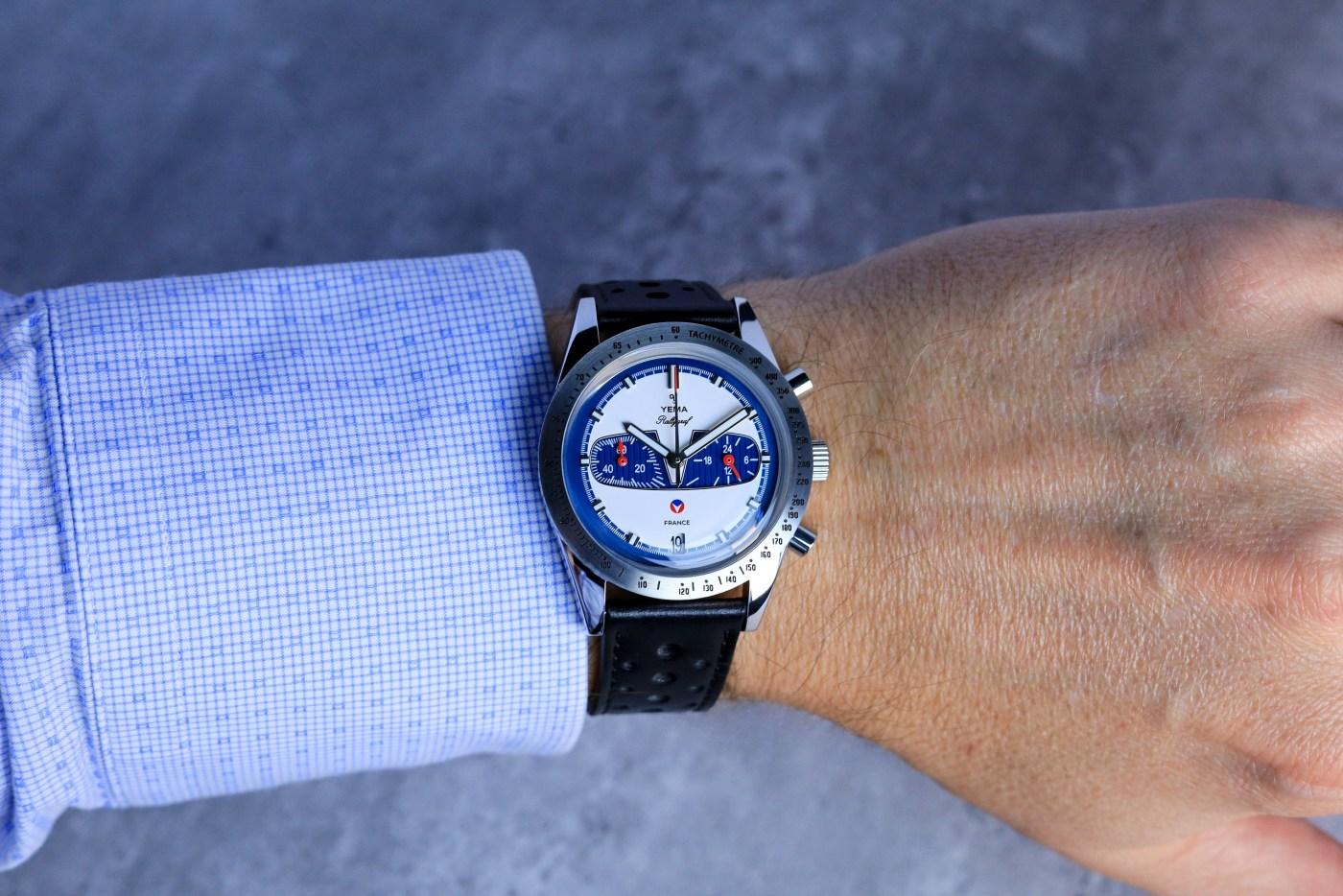 Yema Rallygraf Michel Vaillant wristshot
