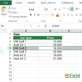 group, grouping, keyboard shortcut, excel