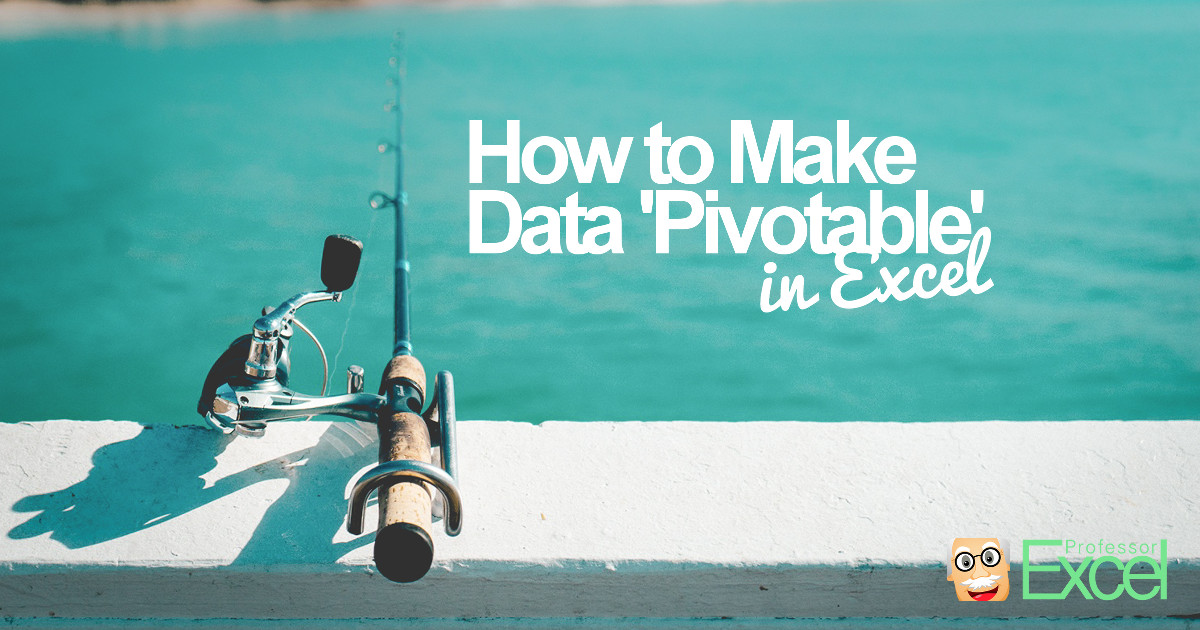 pivot, pivotable, excel