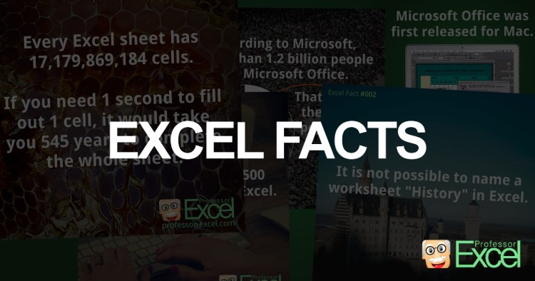 excel, fact, facts