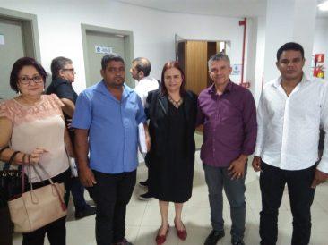 Com representantes de Rondolândia