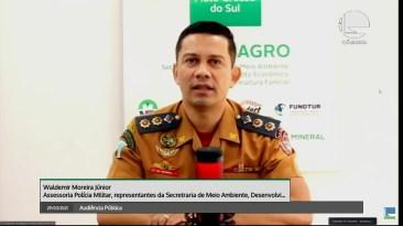 Assessor da PM de Mato Grosso do Sul, Valdemir Moreira Junior