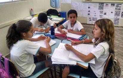 Yasmin, Rafael, Tainá e Bruna