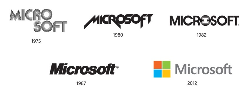Microsoft-Brand-Evolution