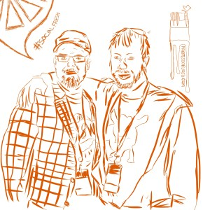 Justice Mitchell and Professor Josh