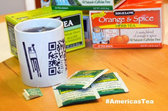 Bigelow Tea #AmericasTea Teas