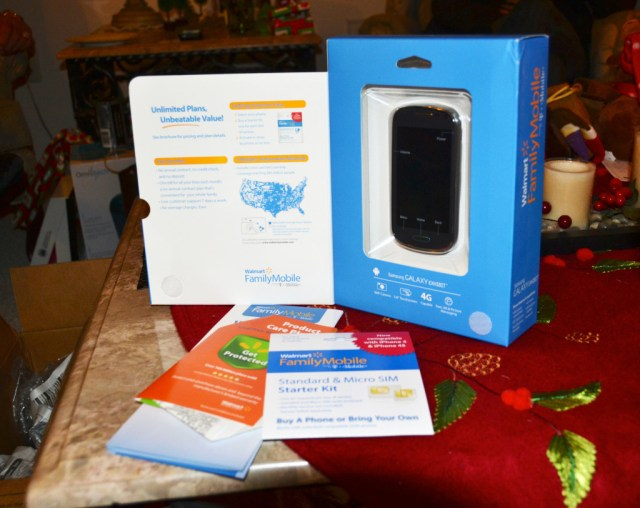 The Entire Package Walmart Family Mobile #FamilyMobileSaves #cbias #shop