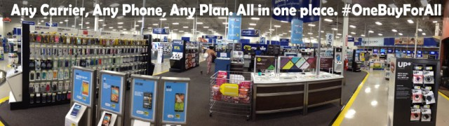 Best Buy Mobile Section Panoramic Electronic Devices #OneBuyForAll #shop #cbias