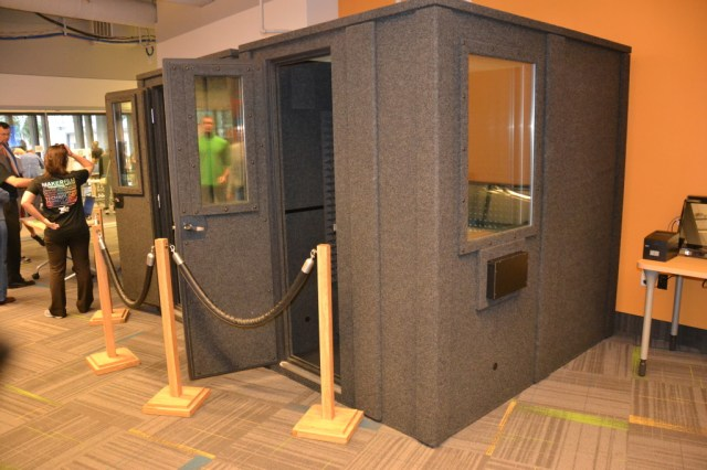 Orlando Library Melrose Center Audio Booth