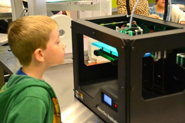 Orlando Library Melrose Center Fab Lab 3D Printer