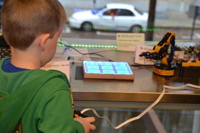Orlando Library Melrose Center Fab Lab Robots