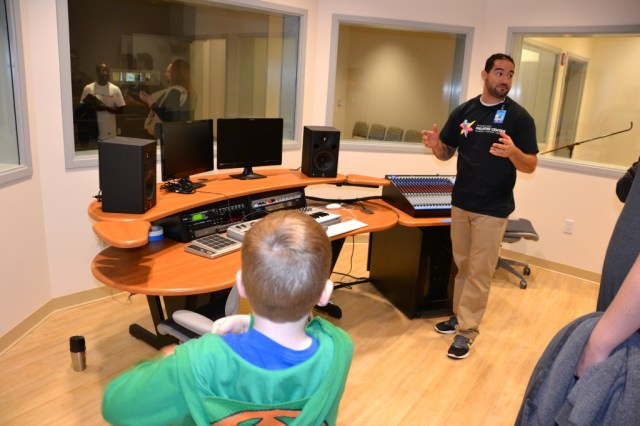 Orlando Library Melrose Center Audio Lab
