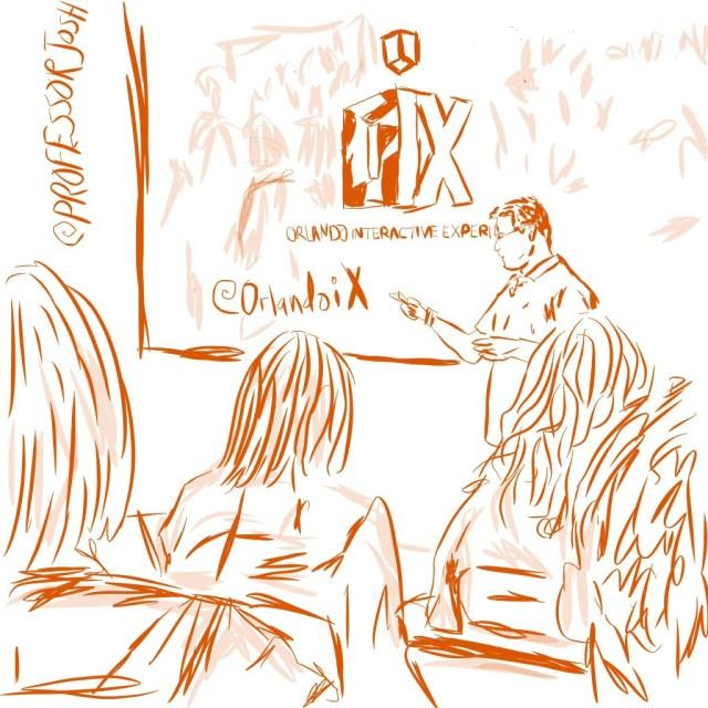 Sketch Professor Josh OrlandoiX 1
