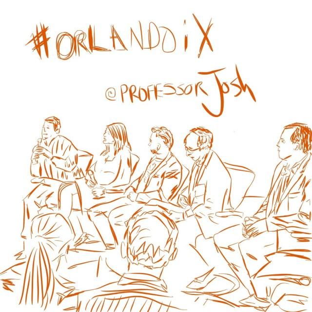 Sketch Professor Josh OrlandoiX 2