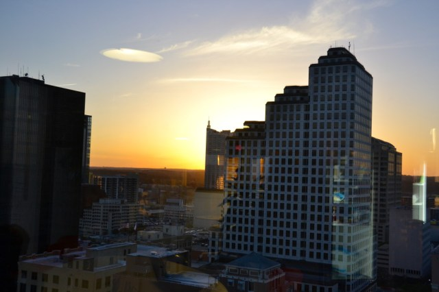Austin Skyline Sunset at SXSWedu