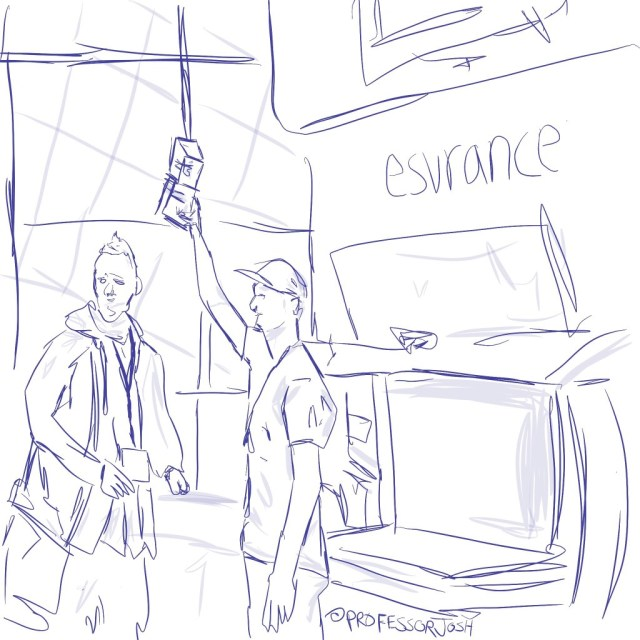 Sketch by Sketch SXSW Interactive Esurance Winner