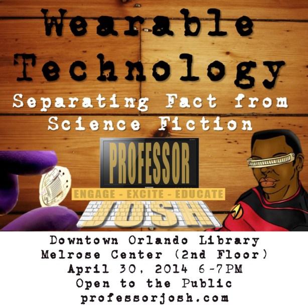 Wearable Tech Talk Melrose Center