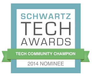 Schwartz-TechCommChampion-nominee-badge Orlando Tech Week