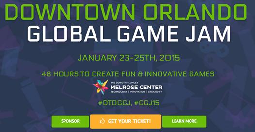 Downtown Orlando Global Game Jam