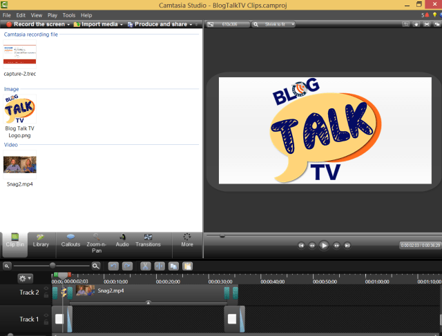 Camtasia BlogTalkTV screenr replacement